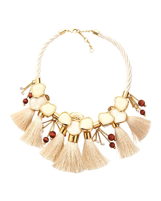 Lele Sadoughi Peking Headdress Necklace