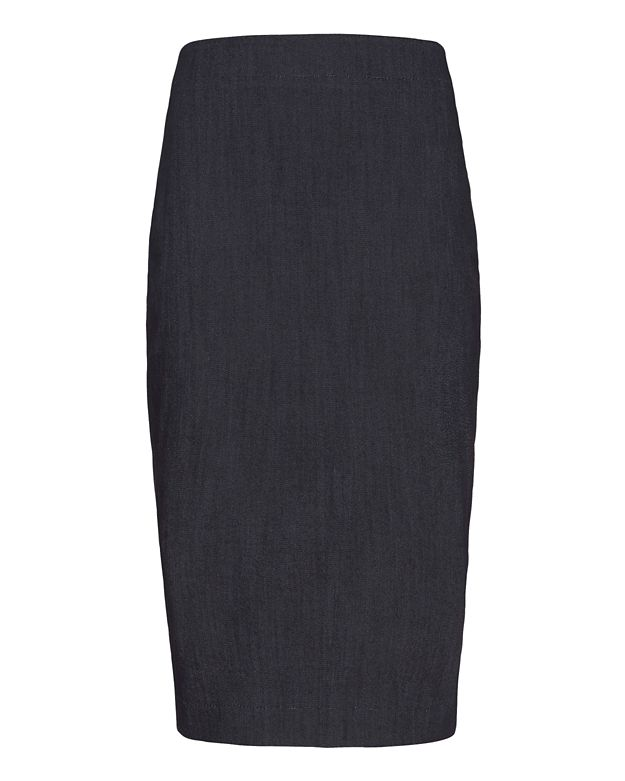 Elizabeth and James Aisling Pencil Skirt: Indigo