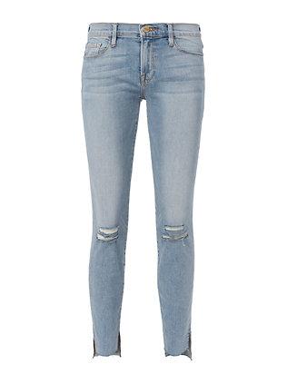 Le Skinny De Jeanne Jackwood Stagger Hem Jeans