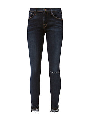 Le Skinny De Jeanne Anchorage Release Stagger Skinny Jeans