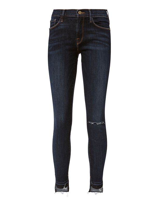 FRAME Le Skinny De Jeanne Release Stagger Anchorage Skinny