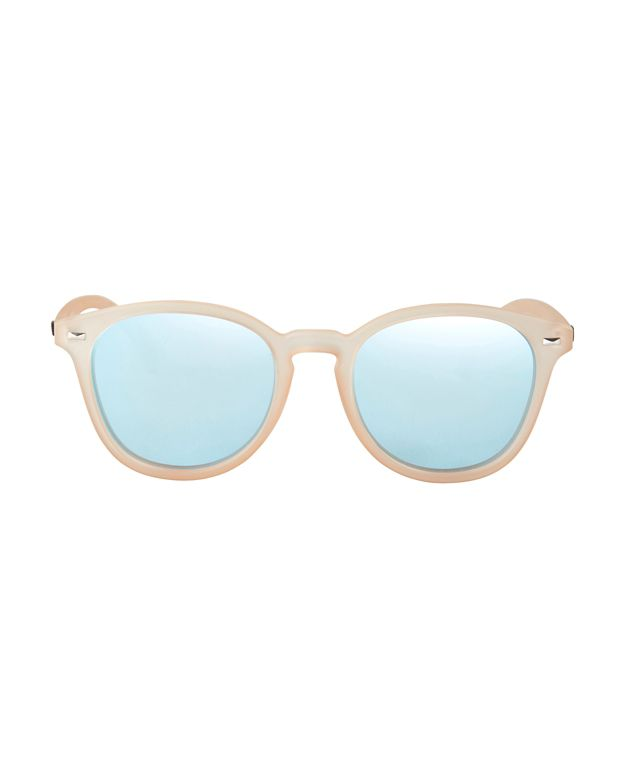 Le Specs Bandwagon Sunglasses: Raw Sugar