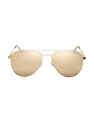 Le Specs Drop Top Aviator Sunglasses
