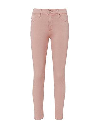 Farrah High-Rise Crop Skinny Jeans