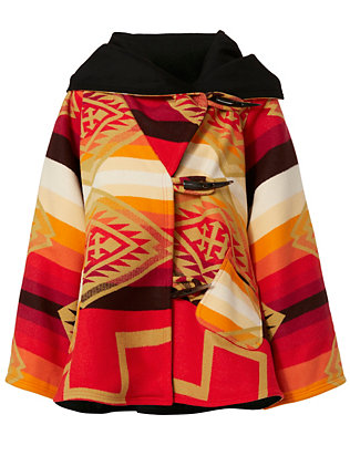 Lindsey Thornburg Spirit Guide Pendleton Blanket Coat