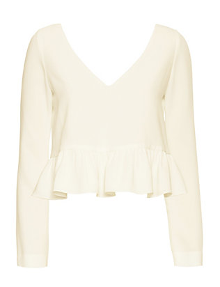 Elizabeth and James EXCLUSIVE Charmeine Ruffle Top