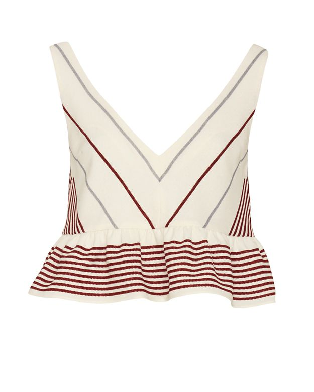Elizabeth and James Annaline Striped Top