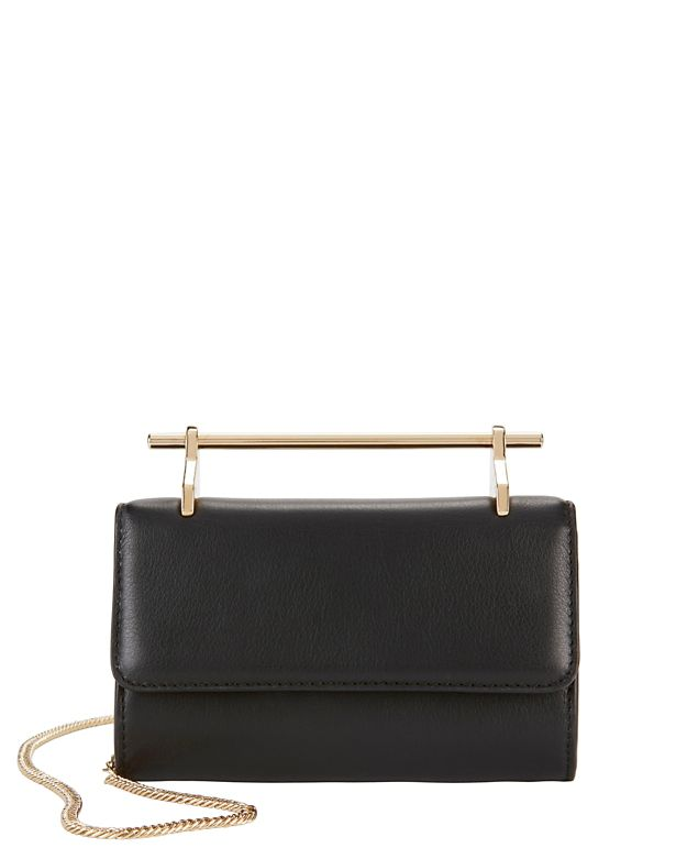 M2Malletier Fabricca Mini Leather Shoulder Bag