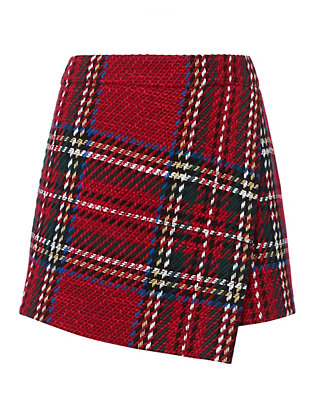 Barbara Bui Plaid Skort