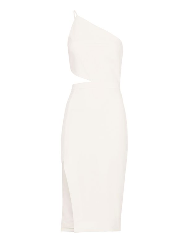Michelle Mason Asymmetric Cut Out Dress
