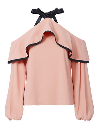 Alexis Malia Cold Shoulder Blouse