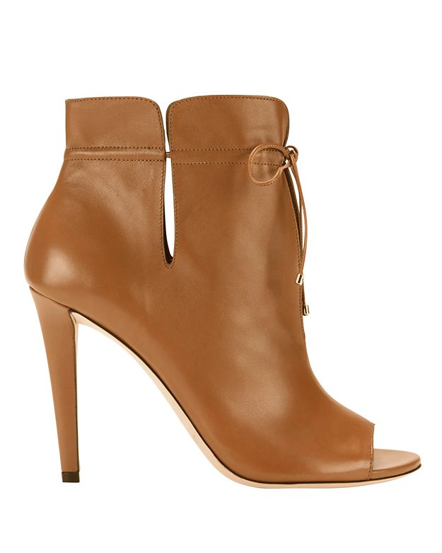Jimmy Choo Memphis Peep-Toe Booties
