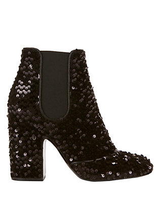 Mila Sequin Booties
