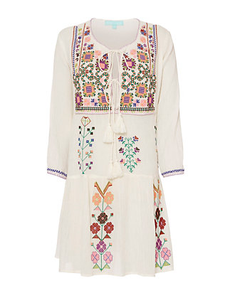Melissa Odabash Millie Embroidered Dress