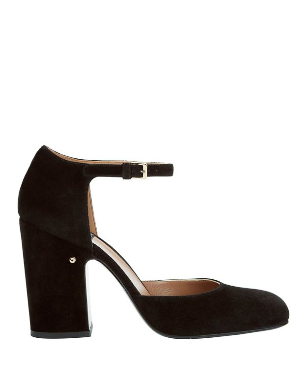 Laurence Dacade Mindy Suede Ankle Strap Pumps