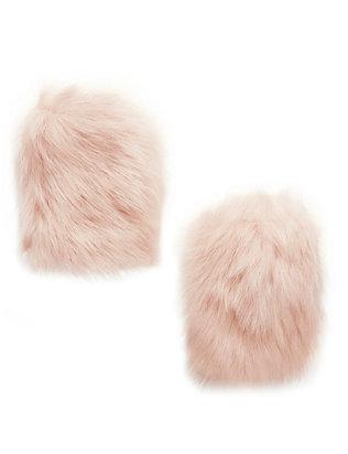 Toscana Shearling Fingerless Gloves