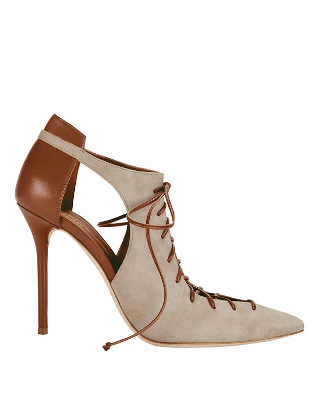 Malone Souliers EXCLUSIVE Montana Pointy Toe Leather/Suede Pump