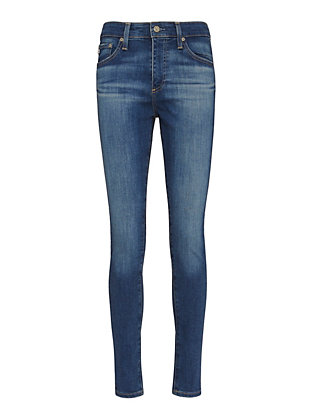 AG Farrah High-Rise Crop Skinny