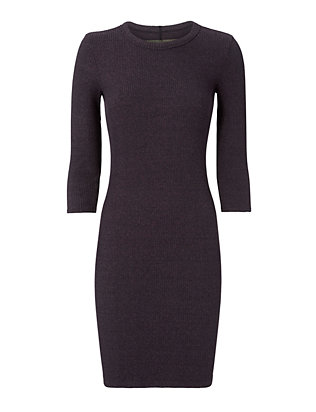 Enza Costa Ribbed Dress