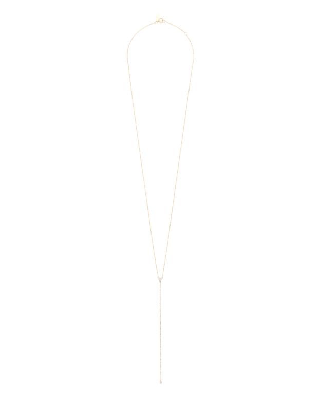 Adina Reyter Diamond Cluster Lariat Necklace