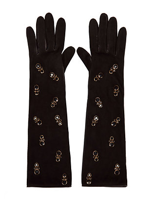 Natalia Embellished Gloves