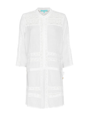 Melissa Odabash Nicole Embroidered Dress