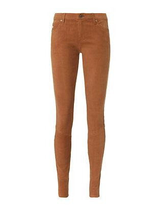 Super Skinny Suede Legging Pants