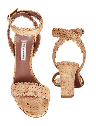 Leticia Scalloped Edge Sandals
