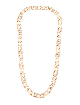 Milos Mini Rose Gold Chain Link Necklace