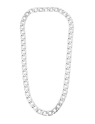 Milos Mini Silver Chain Link Necklace