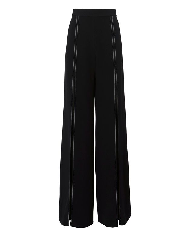 Alexis Oliviera High-Waisted Split Leg Pants