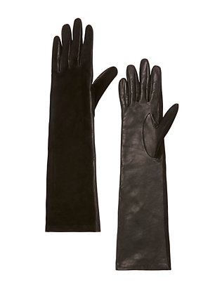 Opera Long Glove: Black