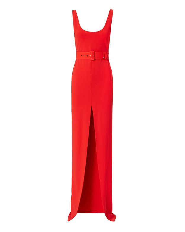 Solace London Tara Slit Gown