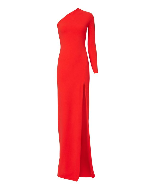 L agence red dress designs
