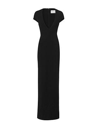 Solace London Mason Deep V Gown