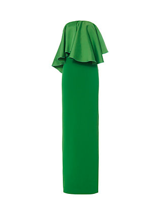 Solace London Liv Strapless Maxi Dress