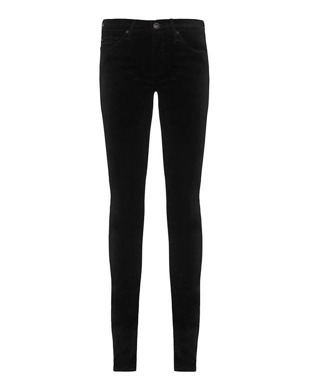 AG Black Velvet Legging