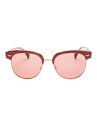 Oliver Peoples Shaelie Round Clubmaster Sunglasses
