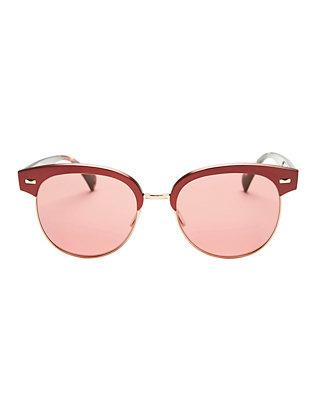 Shaelie Round Clubmaster Sunglasses