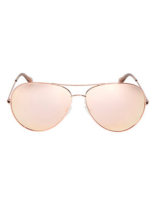 Sayer Mirrored Aviator Sunglasses