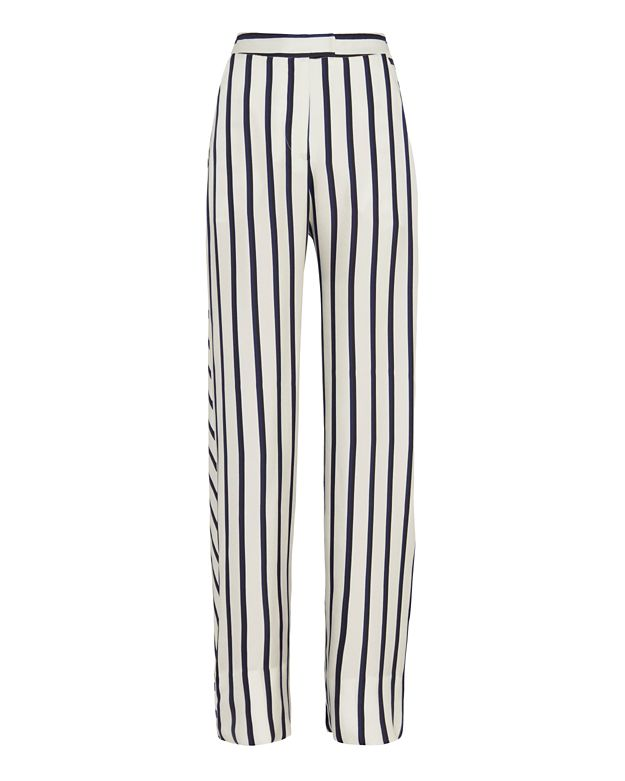 Nicholas Striped Wide-Leg Pant