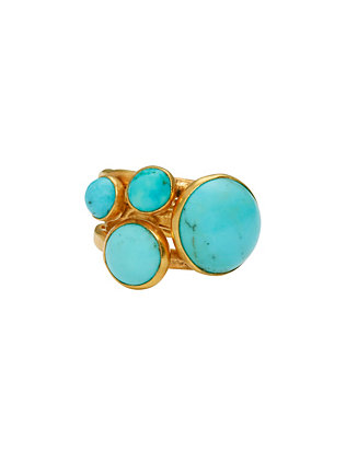 Nest EXCLUSIVE Turquoise Cabochon Ring
