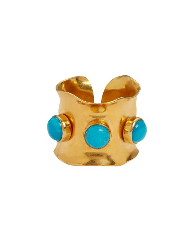 Nest EXCLUSIVE Triple Turquoise Wrap Ring