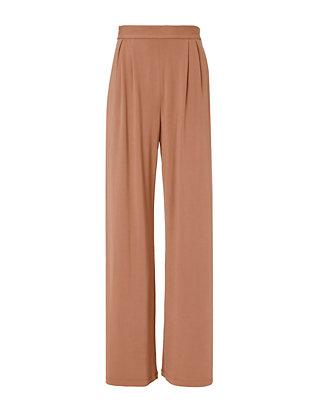 Fox Silk-Lined Pants