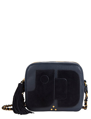 Jerome Dreyfuss Pascal Textured Leather Cross-Body