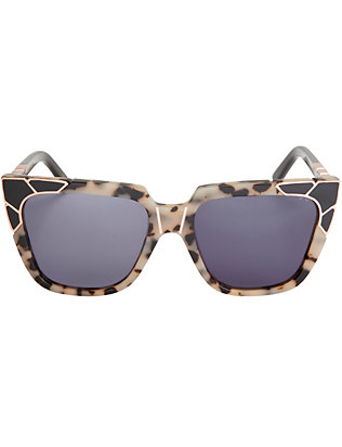Pared Charlie & The Angels Sunglasses: Brown