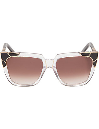 Pared Charlie & The Angels Leopard Sunglasses