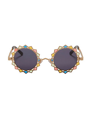 Pared Rainbow Moon & Stars Sunglasses