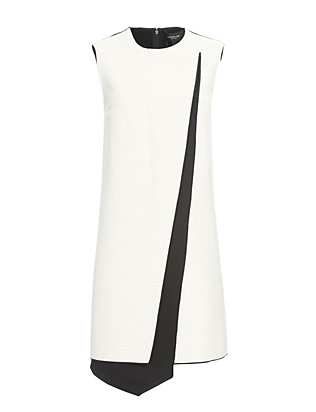 Derek Lam Bi-Color Asymmetric Dress