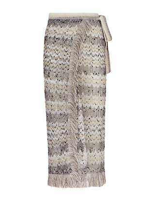 Missoni Fringe Trim Wrap Pareo